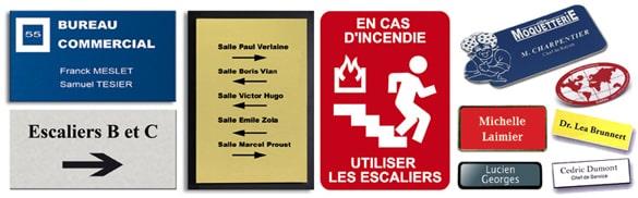 Plaques gravées personnalisées à Voiron