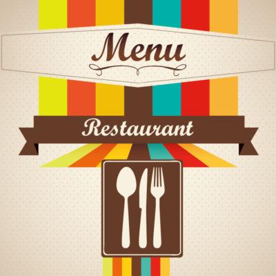 impression création carte et menu pour les restaurants, brasserie et chr