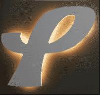 Enseigne lumineuse lettre boîtier rétro-éclairée Voiron Grenoble Chambéry