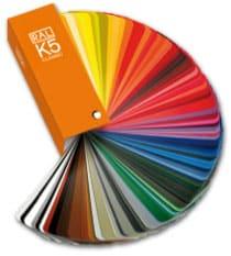 Enseigne lettres découpées en couleur Grenoble Voiron