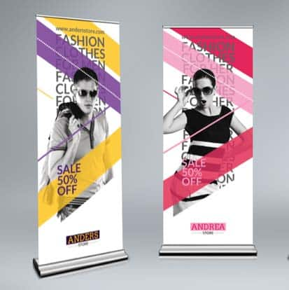 fabrication et impression stand roll up grenoble Voiron
